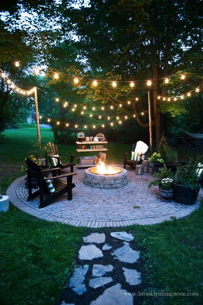 Hanging Patio Lights Ideas: 10 Must Haves for The Perfect Outdoor Living Space via TheKimSixFix.com  https:/. Outdoor Living SpacePatios,Lighting