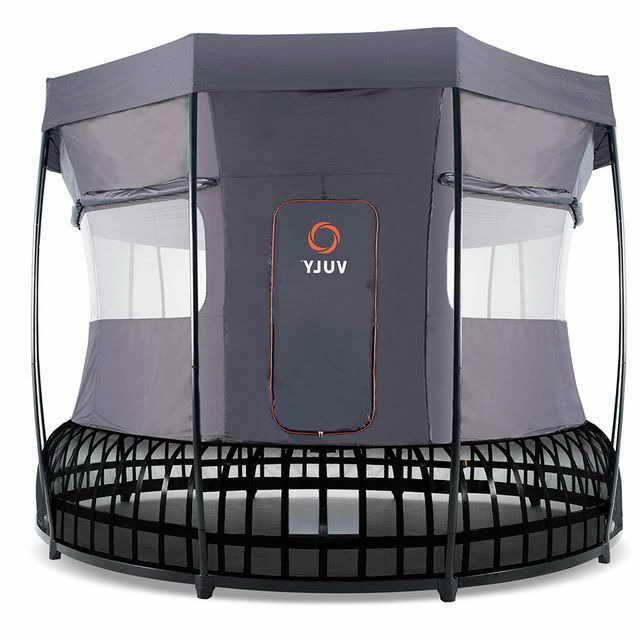 Springfree Trampoline Tent In 2020 Trampoline Tent Trampoline Accessories Trampoline