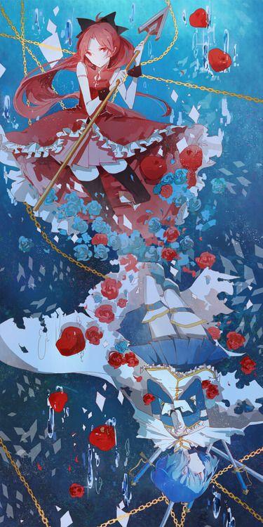 Sakura Kyoko and Miki Sayaka • Madoka Magica