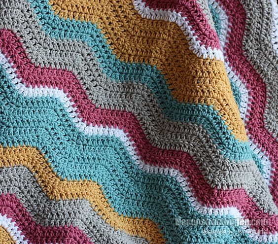 Hi everyone! I hope your Friday is off to a fabulous start. I'm dropping into share my latest crochet project. It's been happily received by it's new home so I thought I would share with you. I'm using Lucy from Attic 24's lovely ripple pattern again. (You can see my …