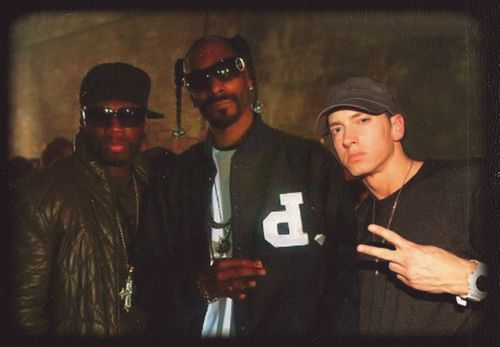 50 Cent, Snoop, and Eminem | Eminem | Pinterest | Rapper ...