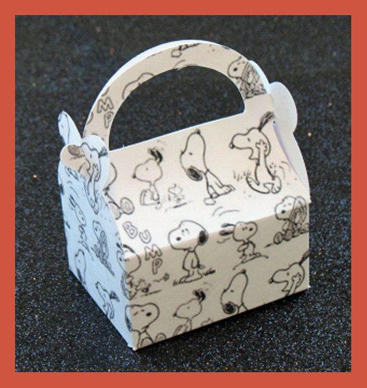 Snoopy verjaardag gunst vak snoopy jongens gunst door tinygiftboxes