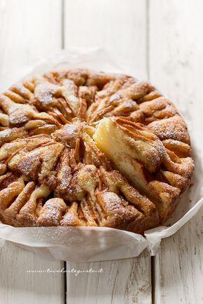 Pie Apples macios - maçãs 1 receita de bolo macio