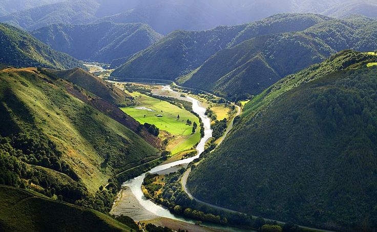 Buller River and SH6 near Kawatere Junction,  Main Hwy to the farm.