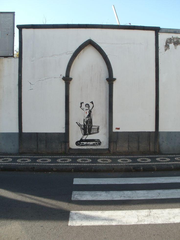 Spotted in Ponta Delgada, Sao Miguel island