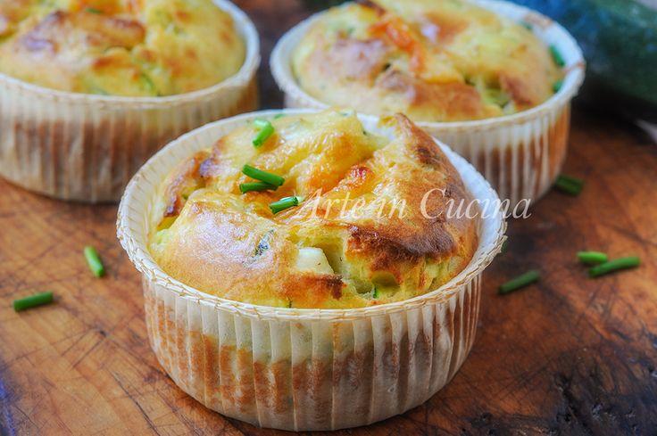 Muffin zucchine e ricotta ricetta veloce sfiziosa