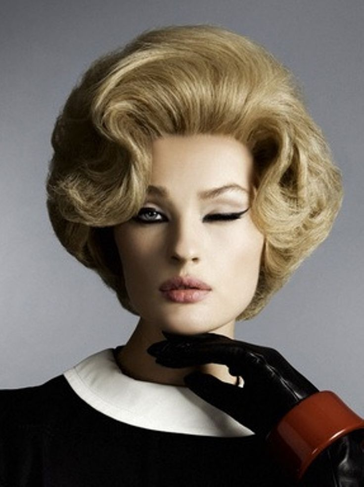 17 Best Images About Bouffant Hairdos On Pinterest