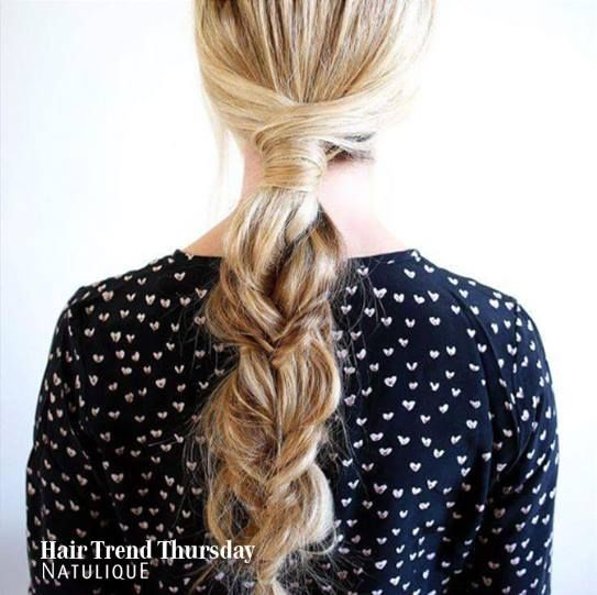 A Stunning braid straight from France for this Hair Trend Thursday! Very spring chic!