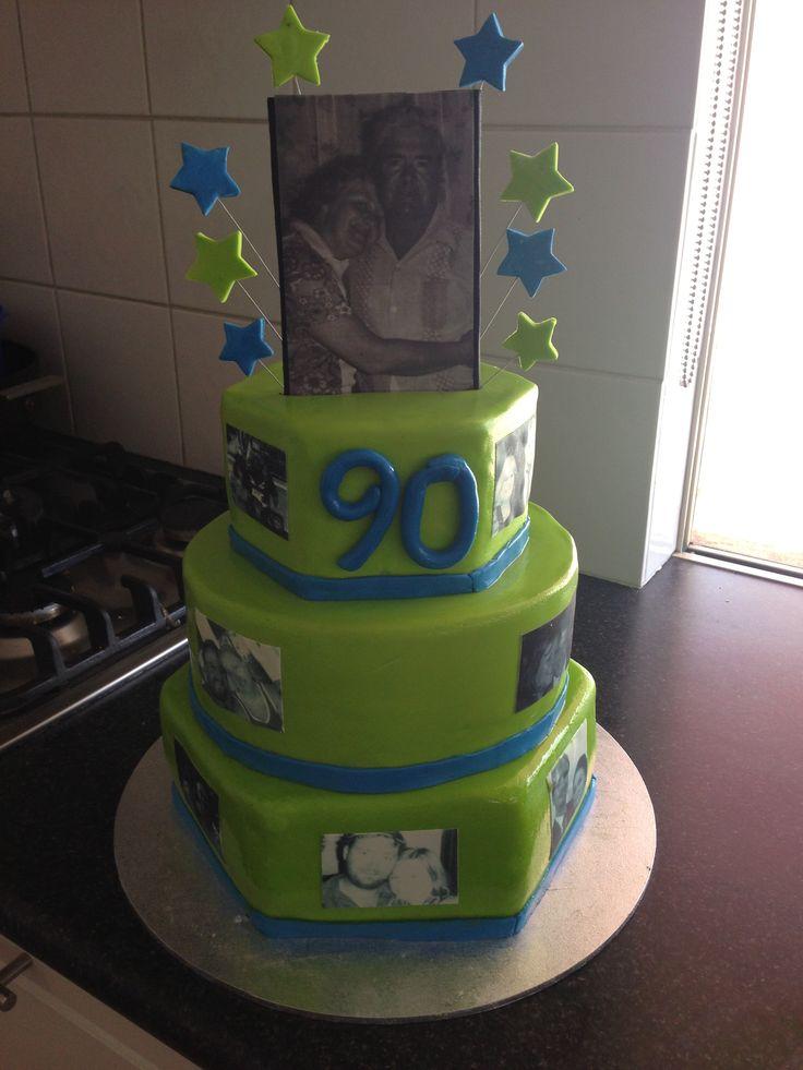Th Birthday Cake Decorating Ideas