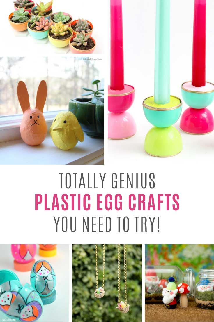 Plastic Easter Egg Recycling Crafts Genius Ideas You Need To See