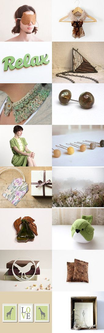 Relax  by Imma on Etsy--Pinned with TreasuryPin.com