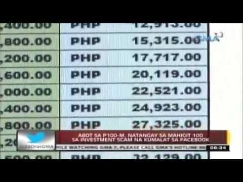 GMA7 News 100M Upwarm Scam Video
