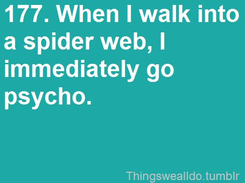 :)Dance Moving, Funny, Truths, So True, Things, I Hate Spiders, Weights Loss, True Stories, Spiders Web