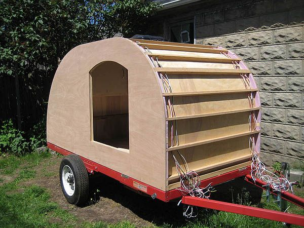 Our Home Built Teardrop Trailer