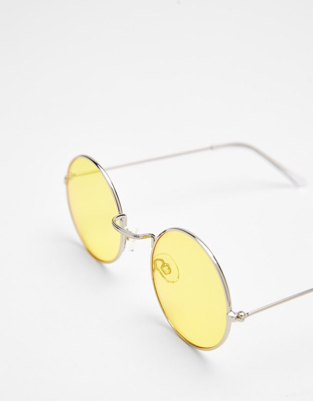 5ea59a2bb21 Round sunglasses - Bershka  accesories  accesory  fashion  product  style   cool  trend  trendy  outfit  ideas  inspiration  moda  accesorios  gafas   sol ...