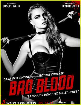 Cara Delevingne Is Mother Chucker for 'Bad Blood' Video!