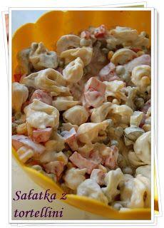 w mojej pachnącej kuchni...: Sałatka z tortellini
