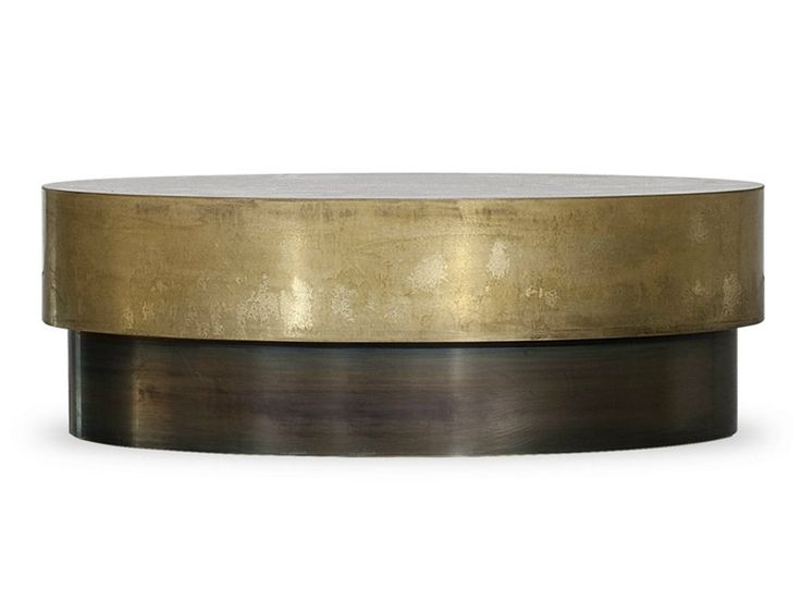 Low oval coffee table LOREN by BAXTER | design Draga Obradovic Atelier