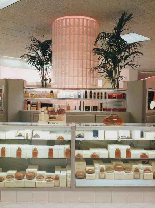 Carson, Pirie, Scott & Co, North Riverside, Illinois  From The Best of Store Designs (1987)