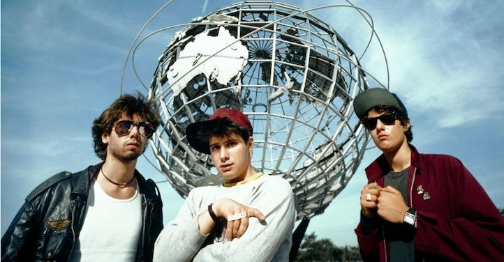 MCA, Ad-Rock and Mike D back in the day.
