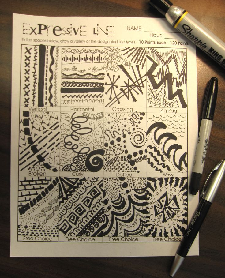 Drawing With Different Lines : Best line hs art images on pinterest education