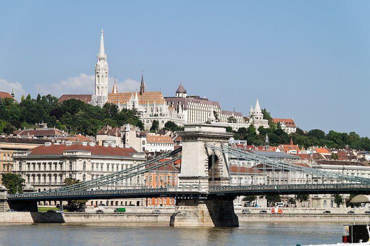 Enchanting Budapest.