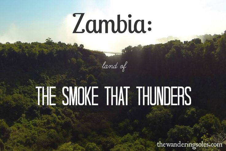#Zambia: Land of The Smoke that Thunders #Africa #travel