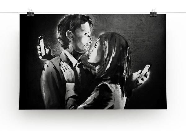 Banksy Mobile Lovers Print - They'll Love It - 3