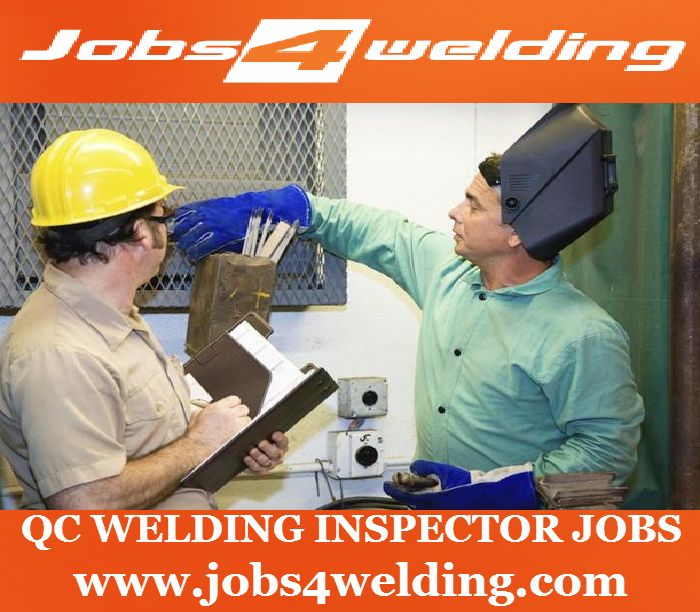 Job Description  QC Welding inspector Jobs  Qualification:  We are urgently in need of qualified and motivated candidates for overseas employment with Applus Velosi – Kingdom of Saudi Arabia.You can apply job on http://goo.gl/74Rhkr