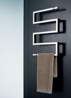 Cubic Snake Bathroom Towel Rail in Chrome (154)