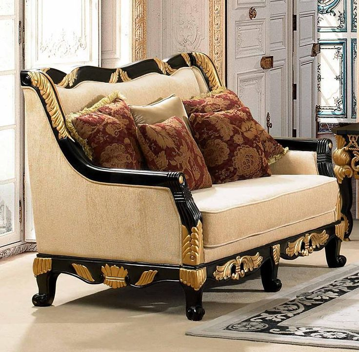 Formal Victorian Living Room Furniture | Luxurious Traditional Style Formal Living  Room Furniture Set HD