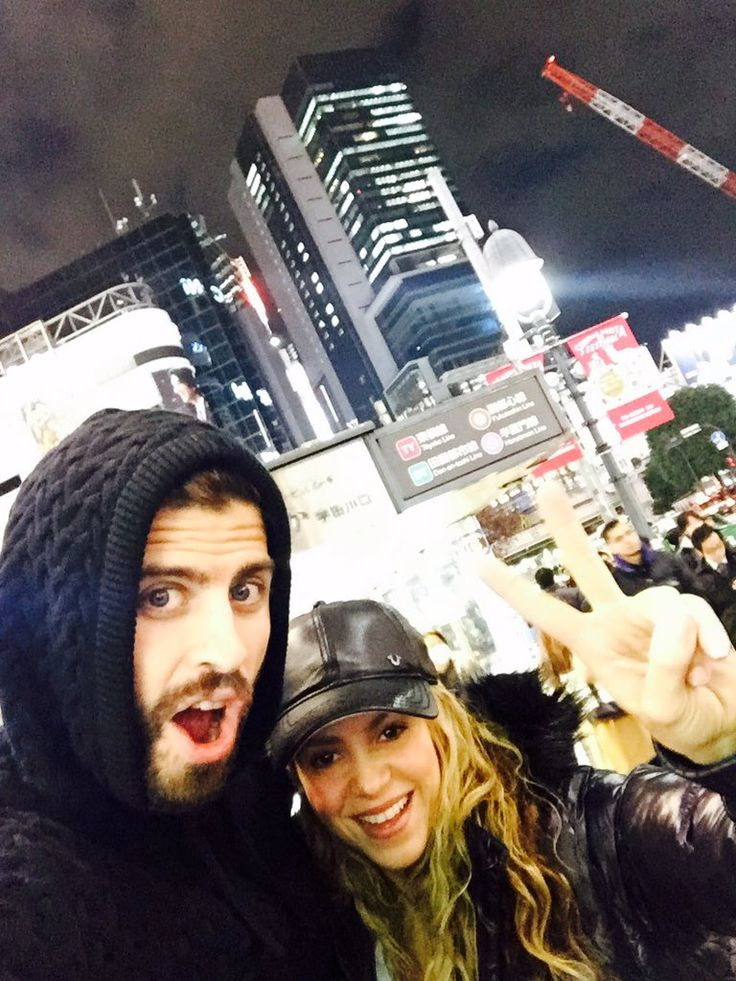 "Shakira on Twitter: ""Noche en Tokio"", 22 Dec 2015"