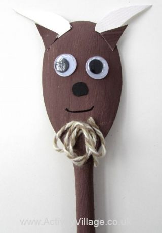 Wooden Spoon Goat