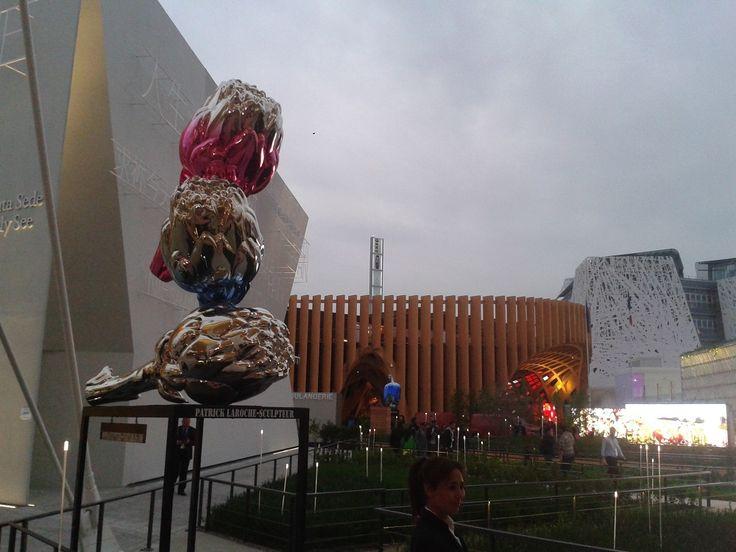EXPO 2015 - Scultura Patrice Laroche