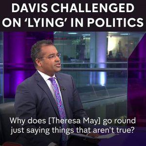 What brings politics into disrepute?   Krishnan Guru Murthy discussed with Brexit Secretary David Da #news #alternativenews