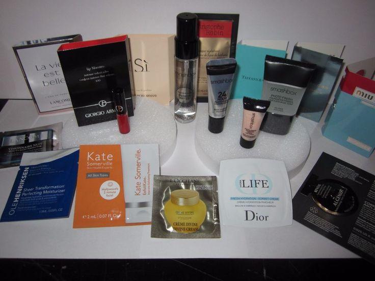 17 pc LOT Mixed High End Makeup Perfume Travel Size Smashbox Photo Finish Primer #MixedHighEndSmashbox