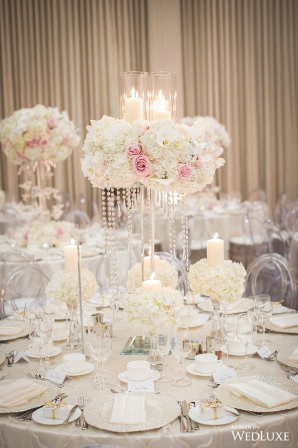 821 best glitz glam wedding images on pinterest table centers wedluxe floral overload photography by alex law photography follow wedluxe for junglespirit