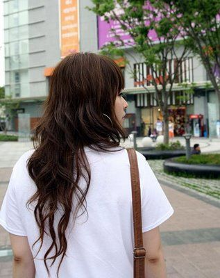 cute simple Asian hairstyle
