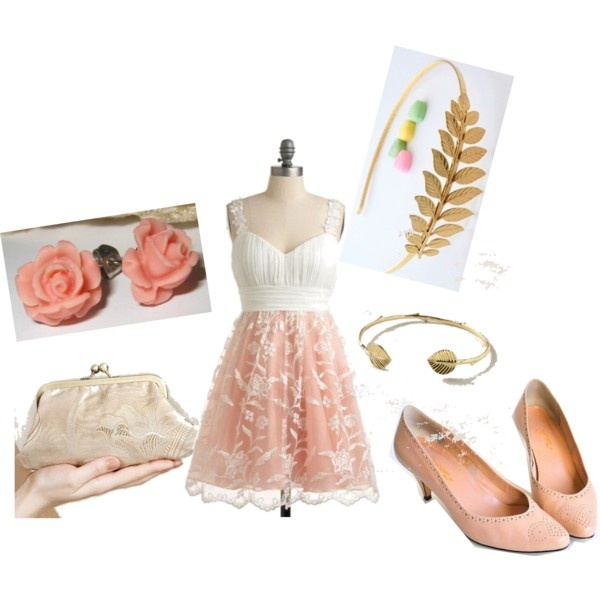 Bridal shower outfit. shoes are vintage. just discovered polyvore. | My sense of Style ...