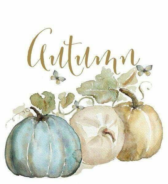 fall pumpkin print