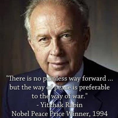Yitzhak Rabin: My hero