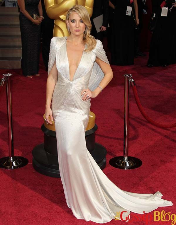 Kate Hudson in Atelier Versace: Best Dressed at 2014 Oscars?