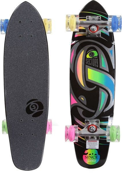 Funky LED wheels for those twilight skate sessions