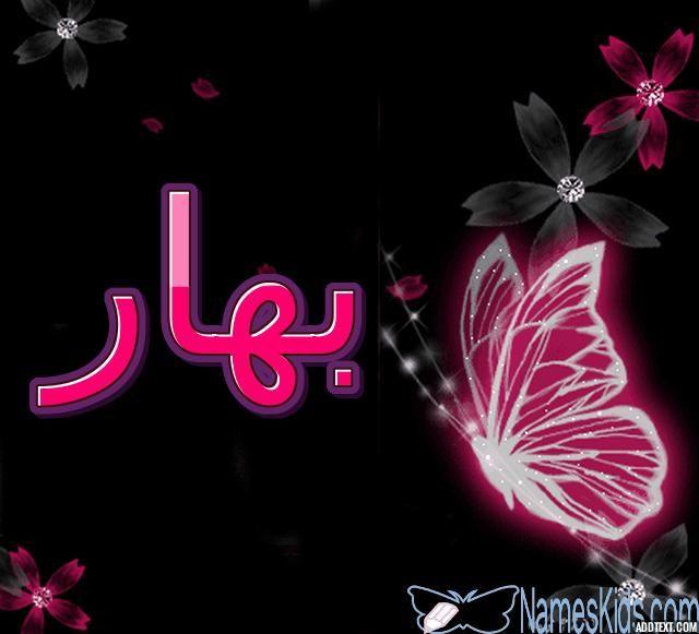معنى اسم بهار وصفاته الشخصية Bahar Bahar Bhar اسم بهار اسم بهار بالانجليزية Neon Signs Neon