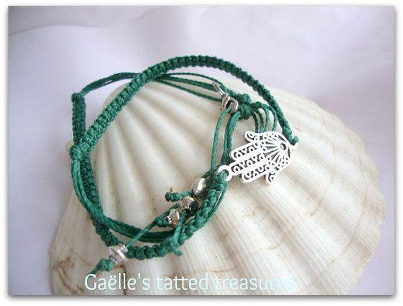 air max 90 mens shoes Hamsa bracelet  Men  39 s bracelet  Macrame by gaestattedtreasures