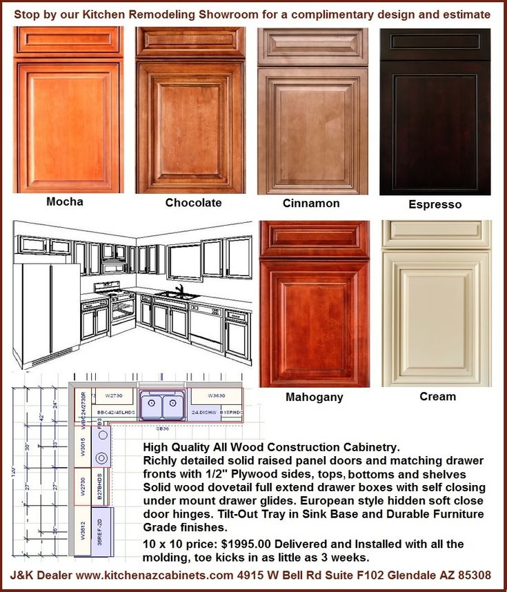 all wood kitchen cabinets in phoenix on sale 1995 installed 9 colors in stock