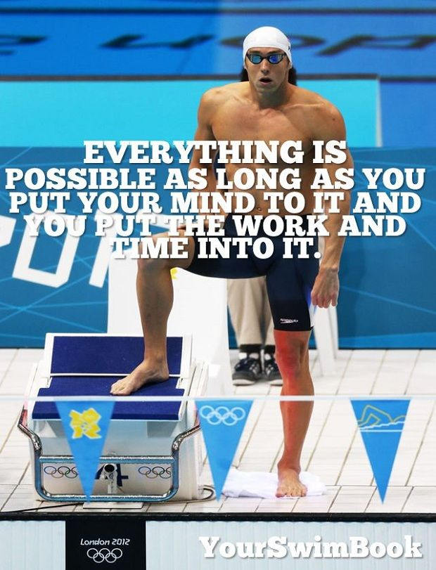 Nice 9 Awesome Michael Phelps Quotes   YourSwimBook