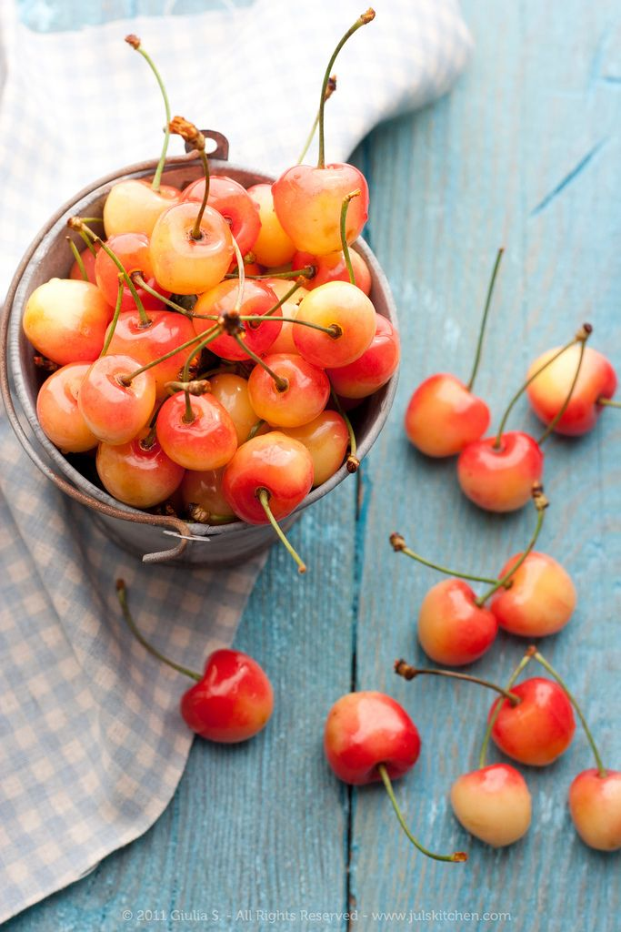 I love Rainier Cherry's. They are the sweetest. Pricey but worth it. :)