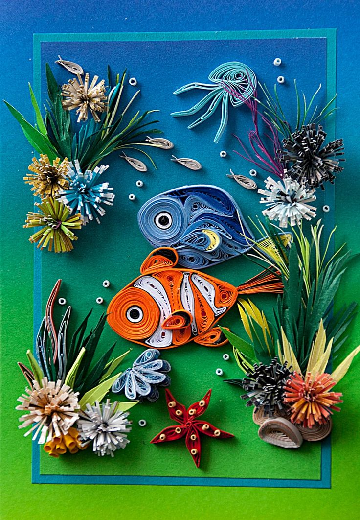 Neli Quilling Art: Summer