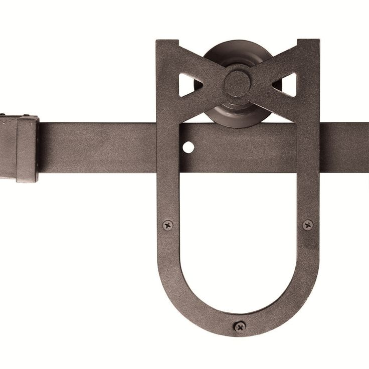 If you're in the market for a sliding barn door then you'll love the rustic look of this horse shoe hardware for your door. Made strong with a modern, country feel. Details: - Color: Coffee (product m